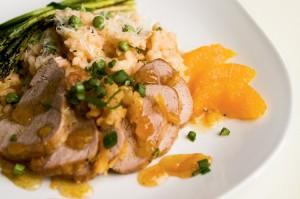 Orange and Horseradish-Crusted Pork Tenderloin Recipe