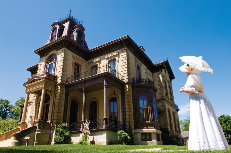 David Davis Mansion in Bloomington, IL