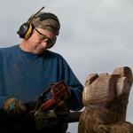 Chainsaw Artist Carves 'Designer' Firewood