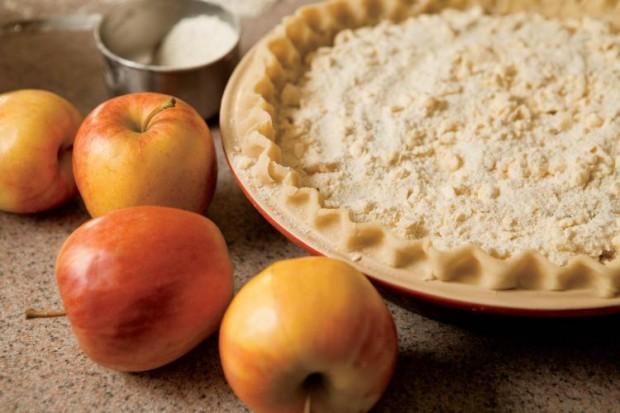 homemade pie from Kinderhook Lodge
