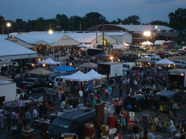 all night flea market
