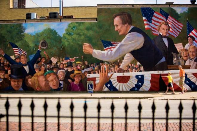 Public art murals of Ottawa IL