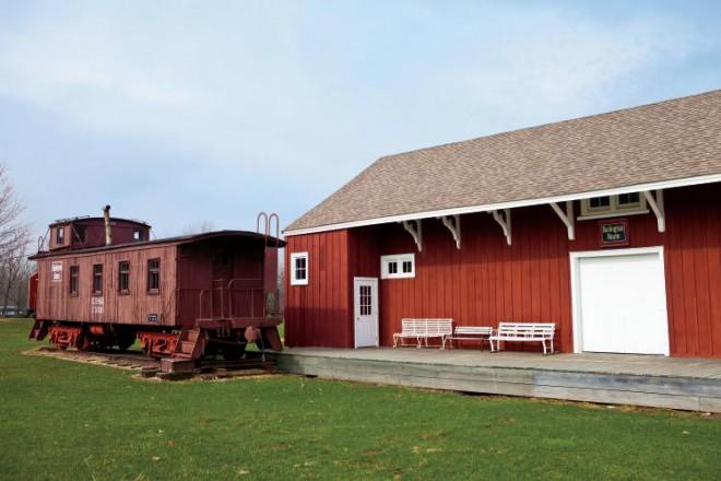 Lyon Farm and Village in Yorkville, IL