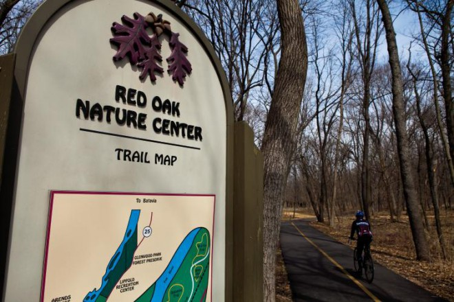 Red Oak Nature Center, Aurora, Illinois