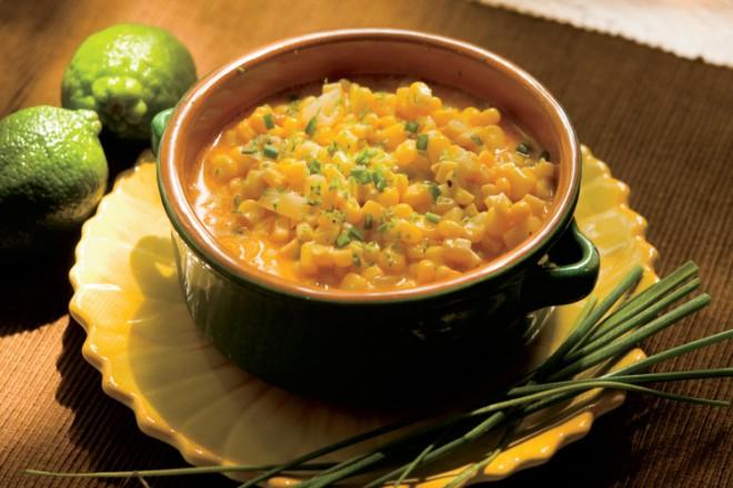 Creamy Chili-Lime Corn