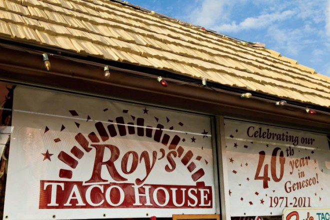 Roy's Taco House Restaurant in Geneseo, Illinois