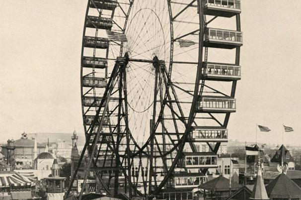 Original Ferris Wheel from 1893