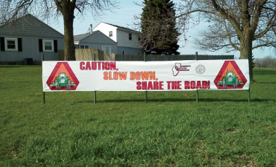 Slow Down Banner-Illinois