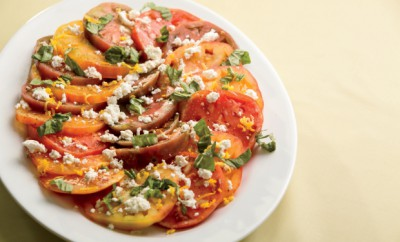 Fresh Ricotta Salad with Heirloom Tomatoes