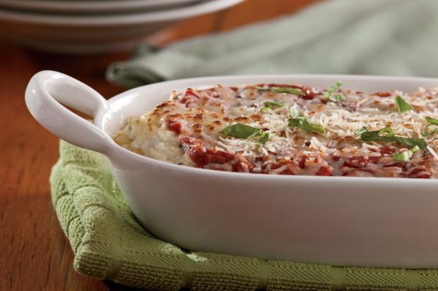 Baked Zucchini Mostaccioli Recipe