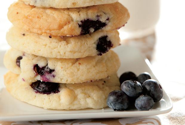Bluberry Drop Cookies