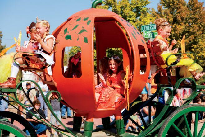 Pumpkin Princess Pageant winners