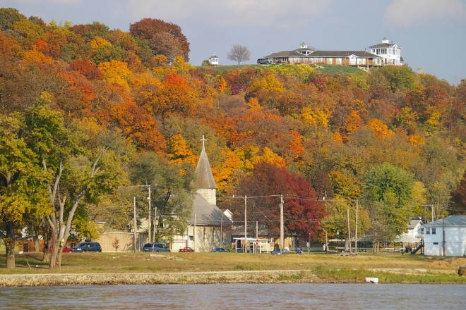 illinois scenic fall drives