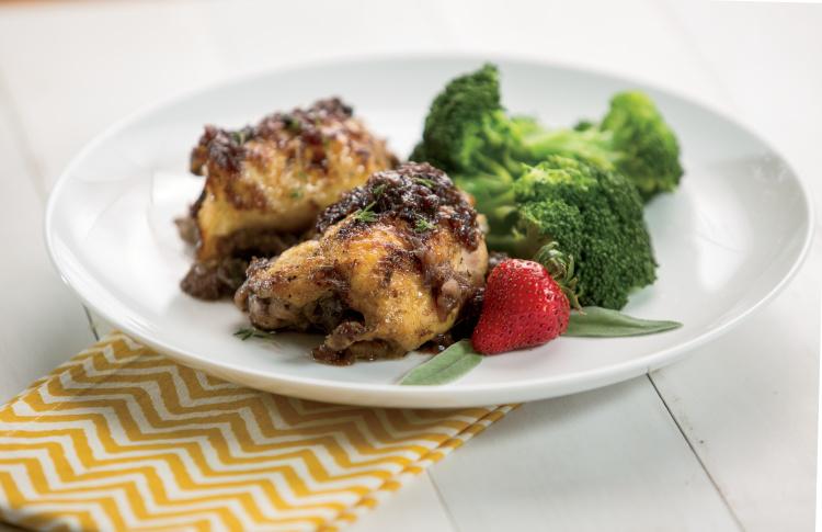 Theo's Strawberry Chicken