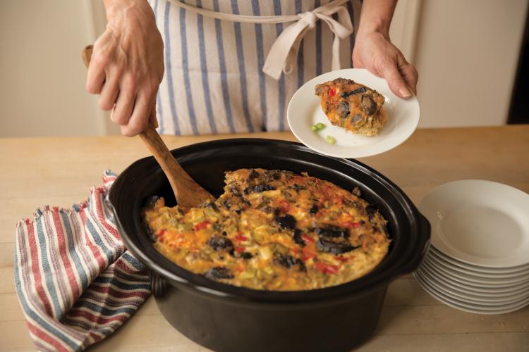 Overnight Slow Cooker Casserole