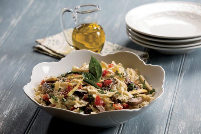 Fresh Basil Pasta Salad