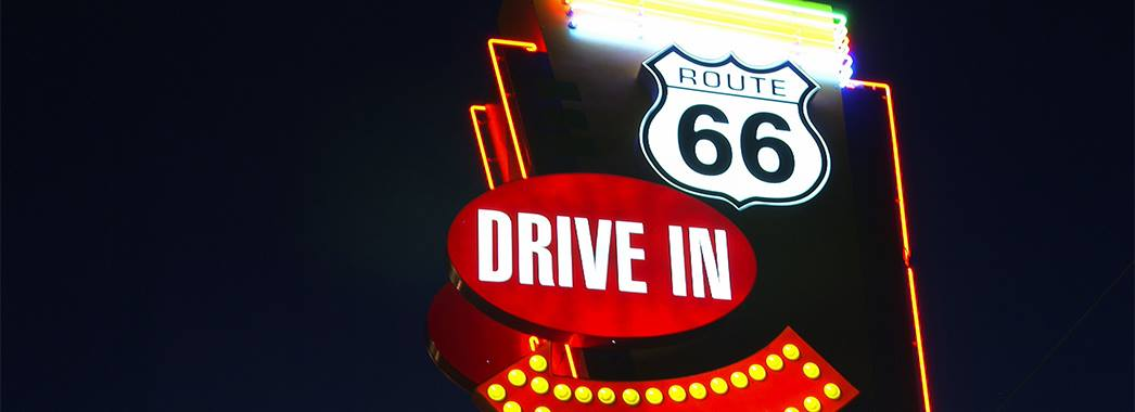 Route 66 Twin Drive in