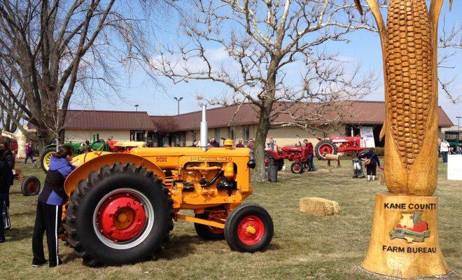 kane county farm bureau touch a tractor