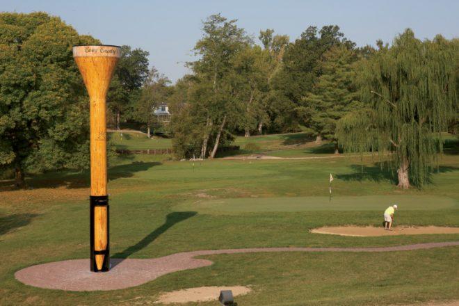 Casey Illinois – World's Largest Golf Tee