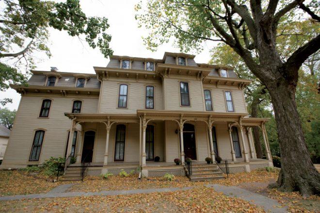 CH Moore Homestead DeWitt County Museum