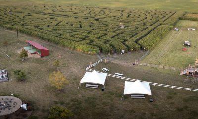 rader family farms illinois corn maze