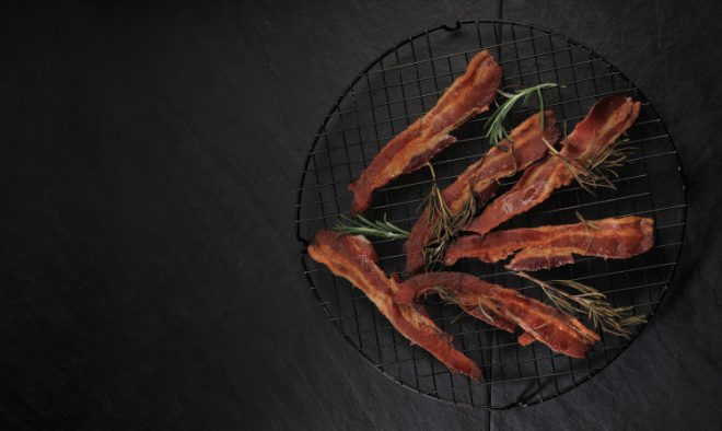 Oven Roasted Bacon with Rosemary