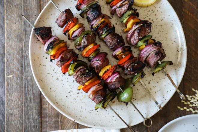 RecipeGreek Steak Kebabs©Journal Communications/Jessi Heggan