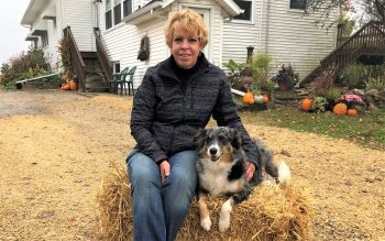 Julie Willis believes Rayne, a six-year old border collie, serves as an integral part of her family's farm.