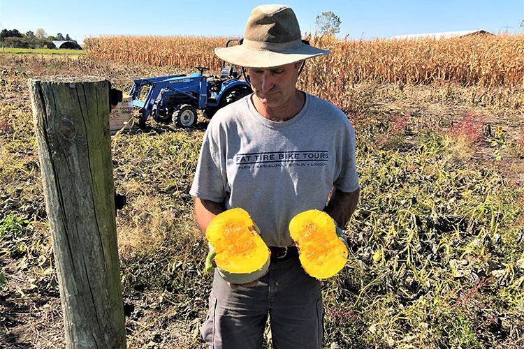 Will County farmer John Kiefner